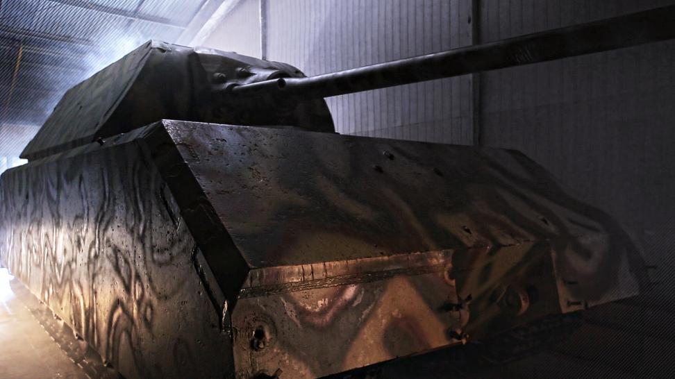"""180-tonowa """"Mysz"""" ma ożyć. Wyjątkowe zdjęcia superczołgu III Rzeszy - TVN24"""