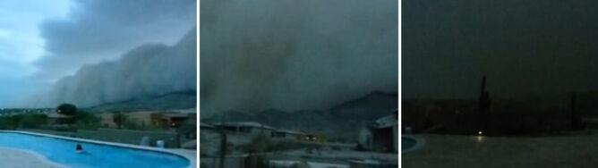Burza piaskowa jak nadciągająca apokalipsa