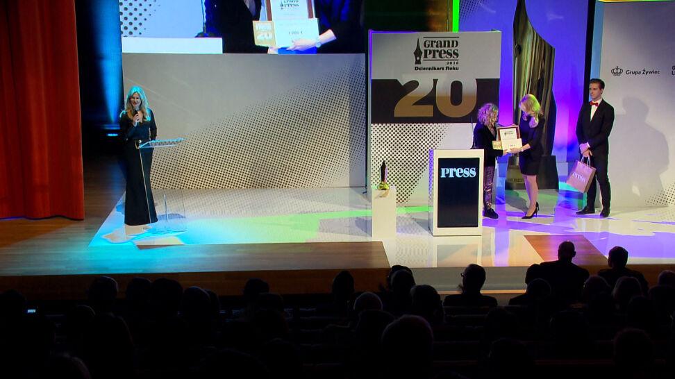 Dziś wręczenie nagród Grand Press. Wśród nominowanych dziennikarze TVN i TVN24