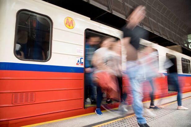 Awaria na stacji Centrum (zdjęcie ilustracyjne) Metro Warszawskie