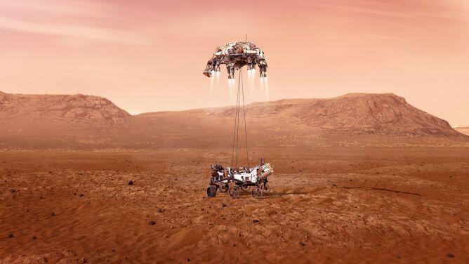 Tak ma wyglądać lądowanie na Marsie. Zobacz animację