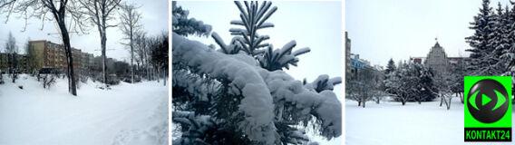 W miastach do 21 centymetrów śniegu