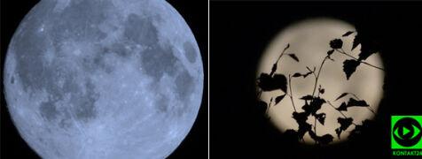Niebieski Księżyc na Waszych zdjęciach. Kolejna taka pełnia za blisko trzy lata