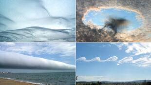 Nowy Atlas Chmur. 12 zadziwiających chmur i zjawisk
