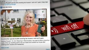 72-latka uczulona na Wi-Fi. Przez fale radiowe ma nudności i boli ją głowa