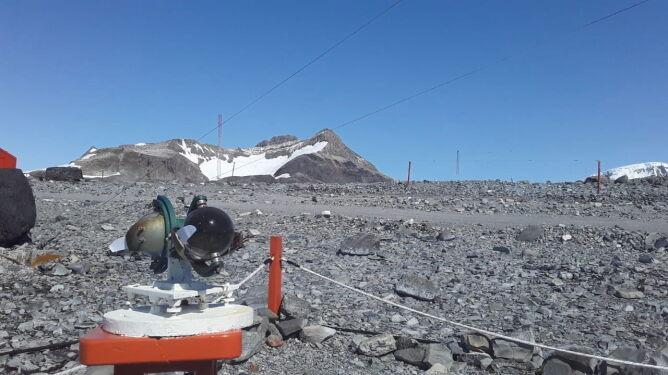 WMO musi zbadać, czy w Esperanzie padł rekord (PAP/EPA/National Meteorological Service HANDOUT)