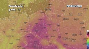 Temperatura w kolejnych dniach (Ventusky.com) | wideo bez dźwięku