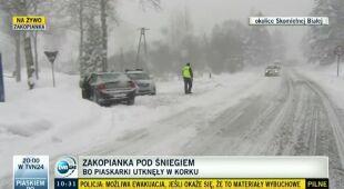 Zbójecka Góra gnębi tirowców (TVN24_