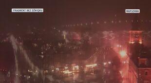Burza z intensywnymi opadami deszczu przeszła przez Warszawę